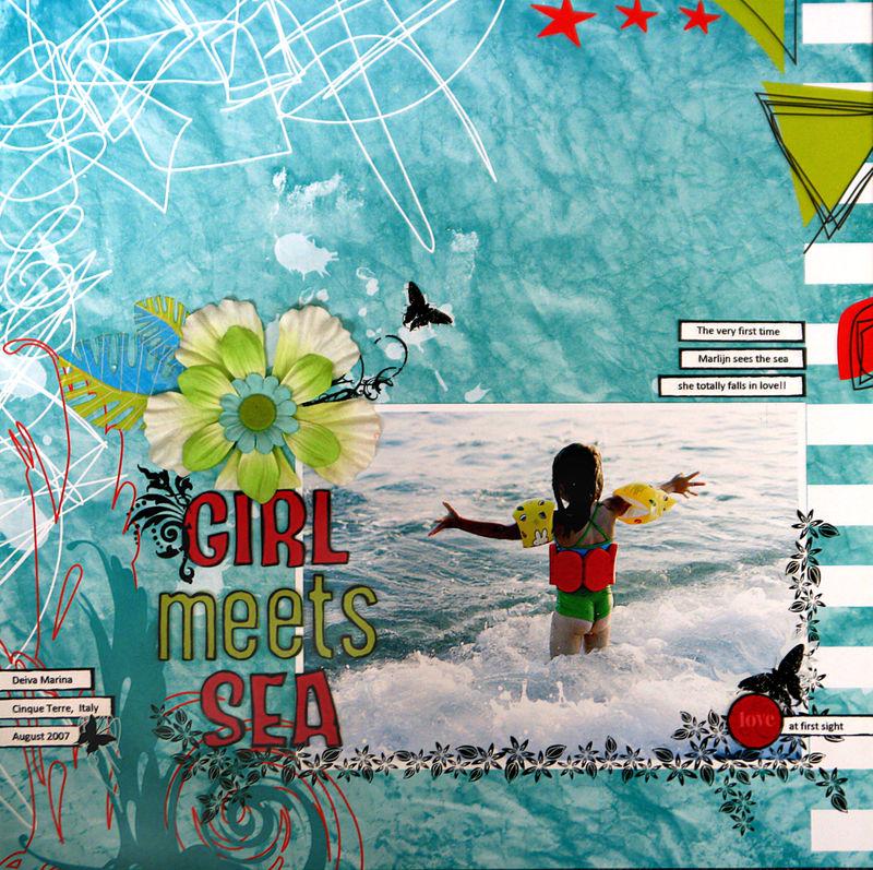 Girl meets sea