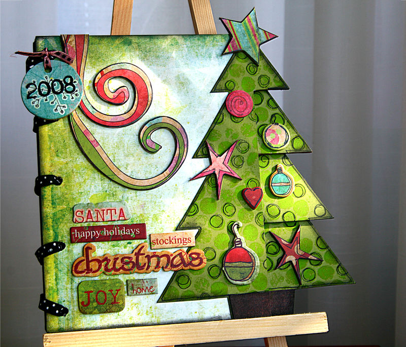 X-mas tree book