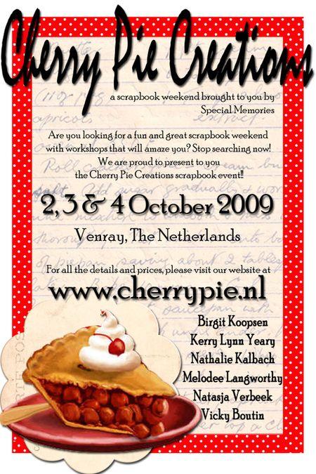 Cherry pie aankondiging
