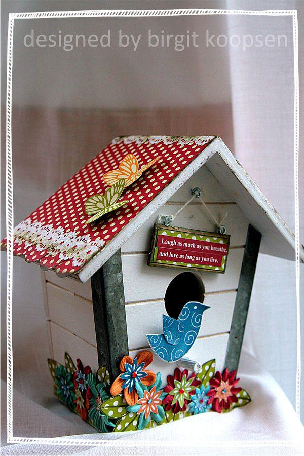 Jillibean birdhouse