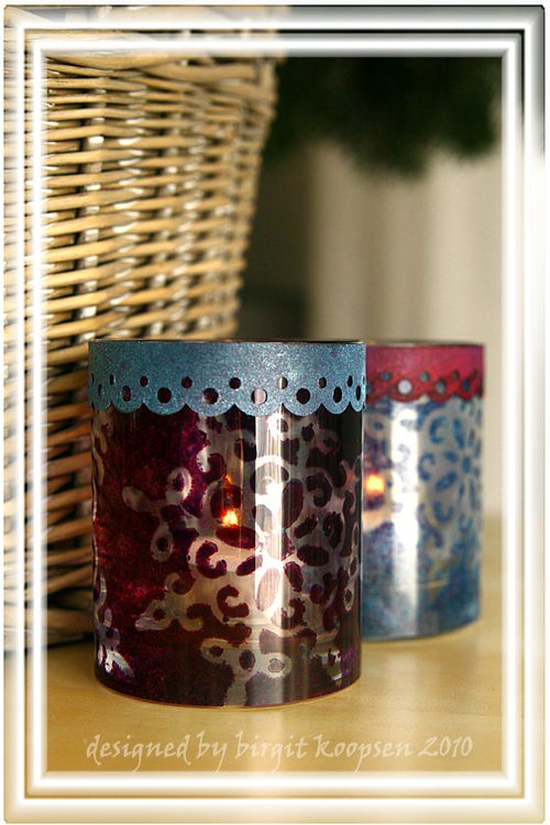 Candle glasses 2 (TA glass)