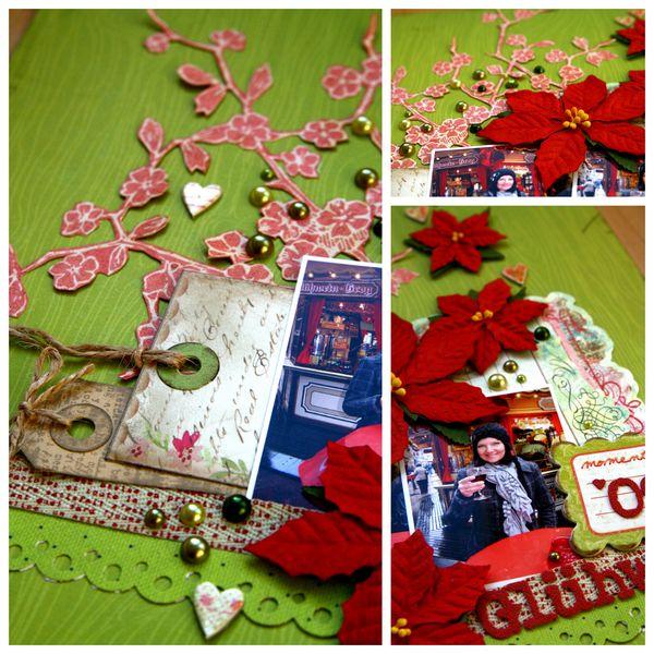 Collage details Glühwein