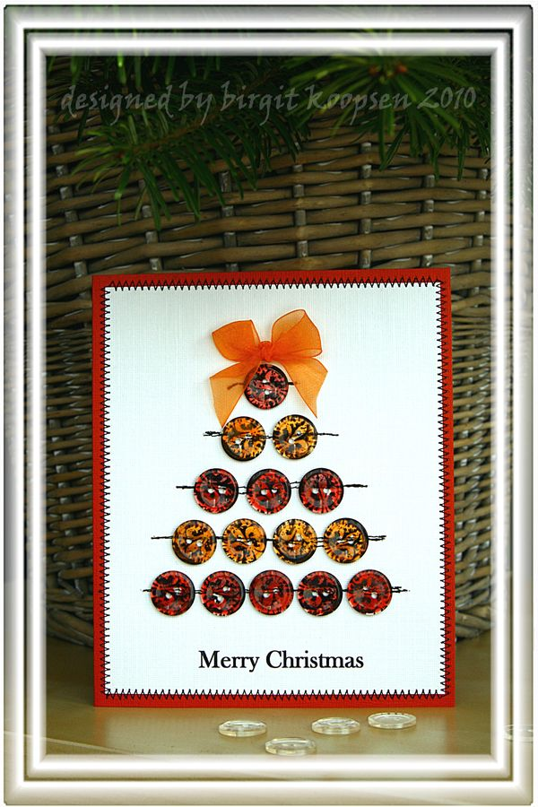 Button tree card (TA glass)