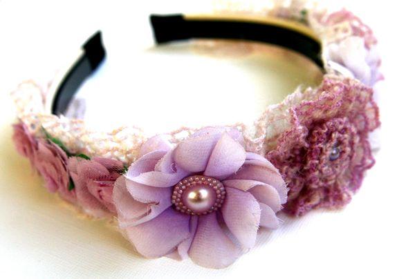 Headband lilac1