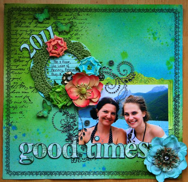 Good times - Prima TA blog hop