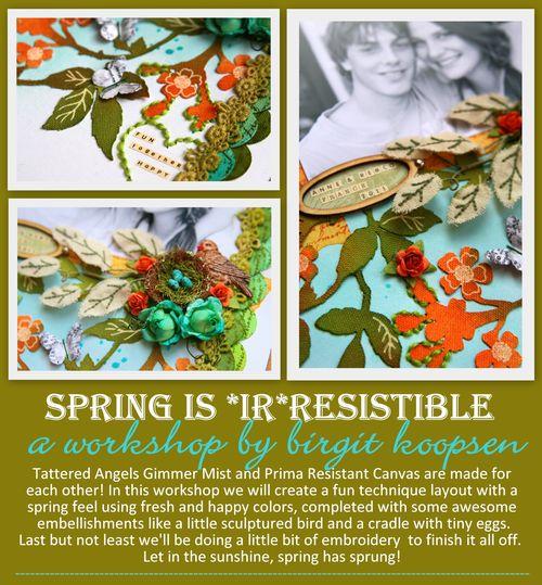 Spring is irresistible