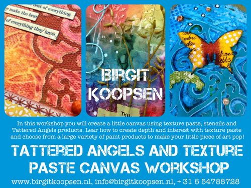 TA and texture paste workshop banner