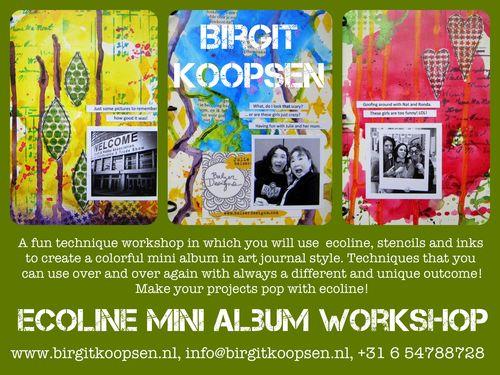 Ecoline workshop banner