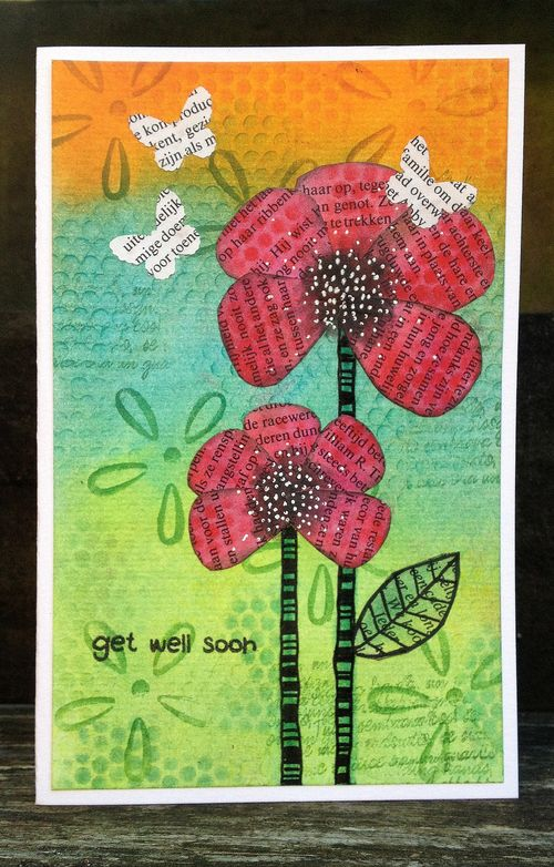 Get well card - birgit koopsen for panpastel