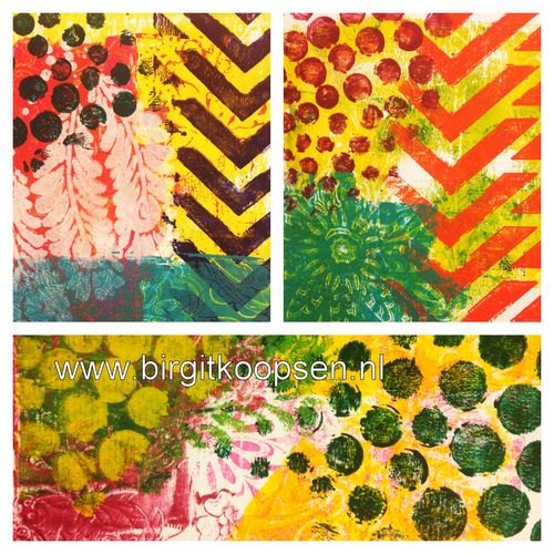 Gelli plate collage2 CS blog hop
