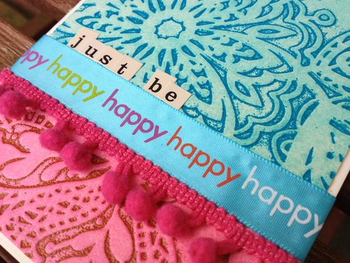 Just be happy card.detail