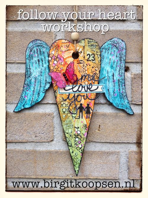 Follow your heart - workshop - birgit koopsen