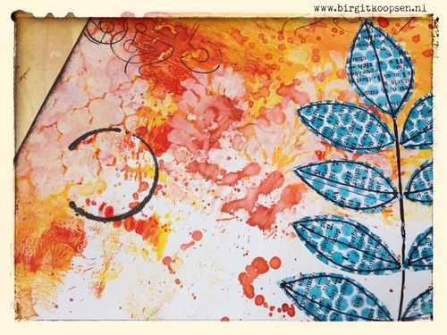 Dreamer - Art Journal Page - Birgit Koopsen.detail2