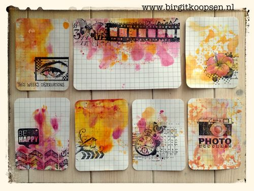 PLCards - set - birgit koopsen