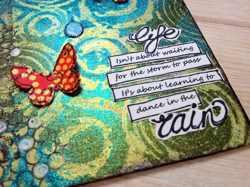 Life tag - SAby3L - detail MyStik permanent strips
