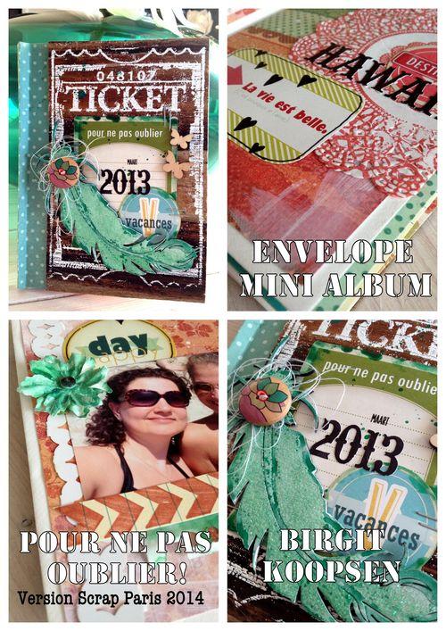Banner Envelope Mini VS- Birgit Koopsen