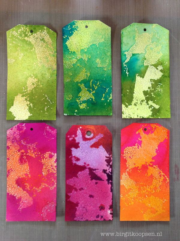 Adhesive Sheets - Embossed Texture - step 14 - Birgit Koopsen for SAby3L