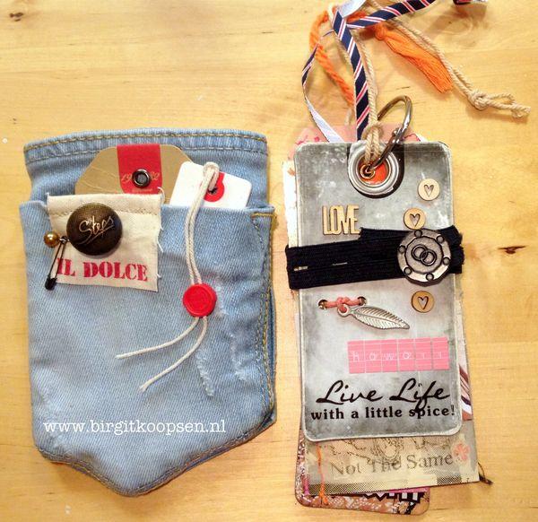 Tag album & pocket