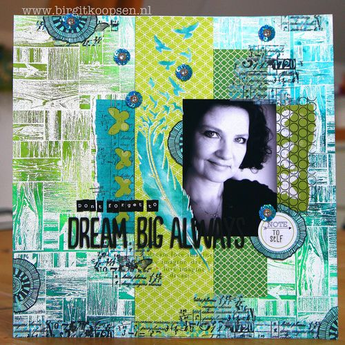Dream Big Always - layout - Carabelle Studio - Birgit Koopsen