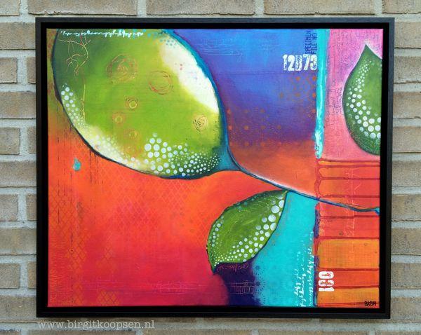 Grow - Birgit Koopsen - acrylic painting
