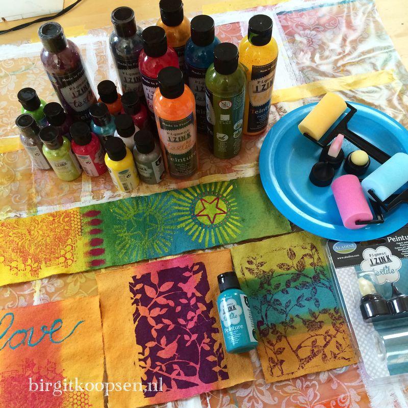 Aladine textile review birgit5