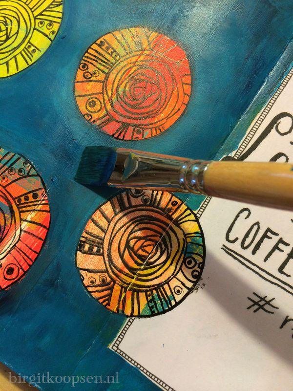 Coffeebreak - step 4 - birgitkoopsen