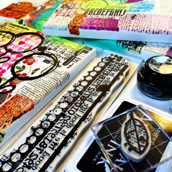 Border stamp - birgit koopsen for carabelle studio