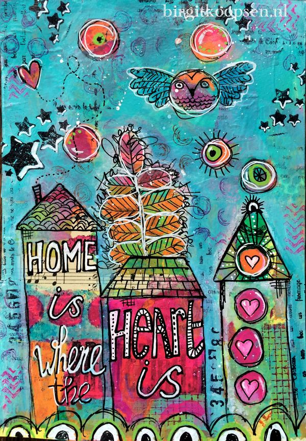 Home is where the heart is - birgit koopsen - left