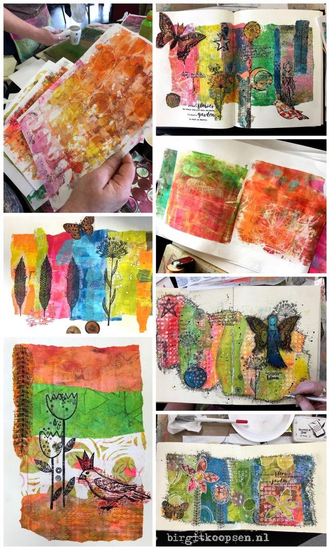 North East Art Workshops collage 1 - birgit koopsen