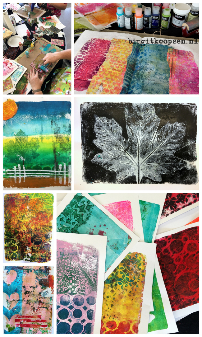 North East Art Workshops collage 4 - birgit koopsen