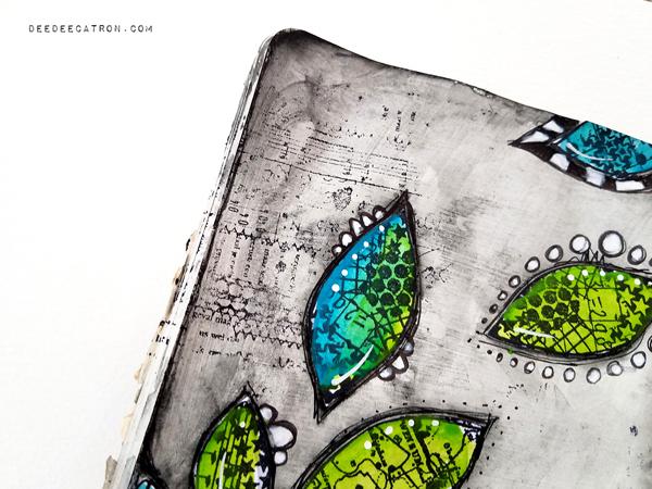 DeeDee Catron - Art Journal Spread Intentions5