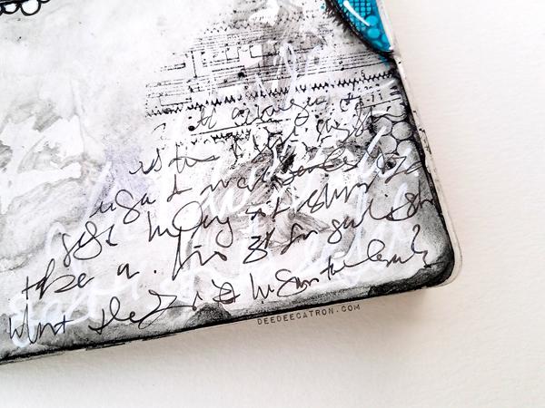 DeeDee Catron - Art Journal Spread Intentions 3