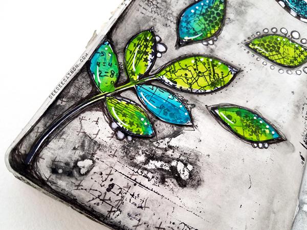 DeeDee Catron - Art Journal Spread Intentions 2