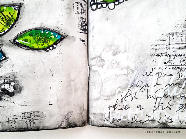 DeeDee Catron - Art Journal Spread Intentions 6
