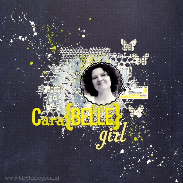 Birgit Koopsen - my stamps with Carabelle - Cara{Belle}