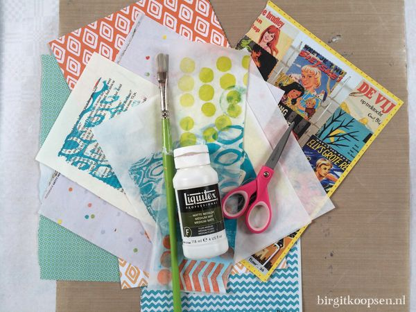 Canvascollagesupplies - birgit koopsen