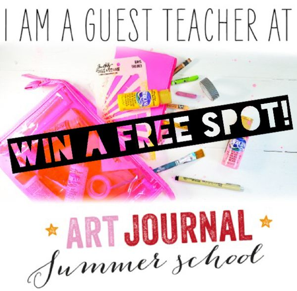 Art journal summer school free spot birgit koopsen