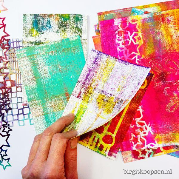 Gelli plate journal birgit koopsen2