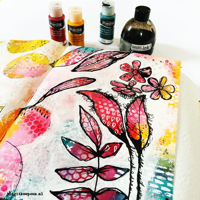 Acrylic ink1 - birgit koopsen