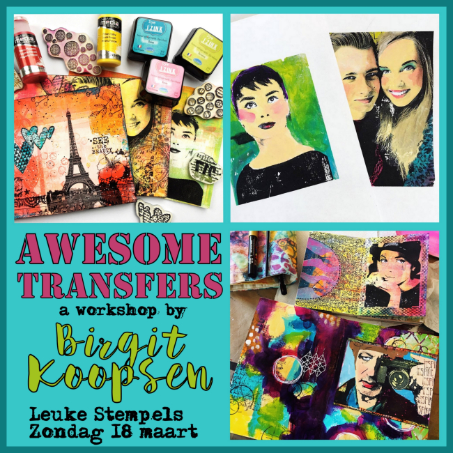 Awesome transfers leuke stempels