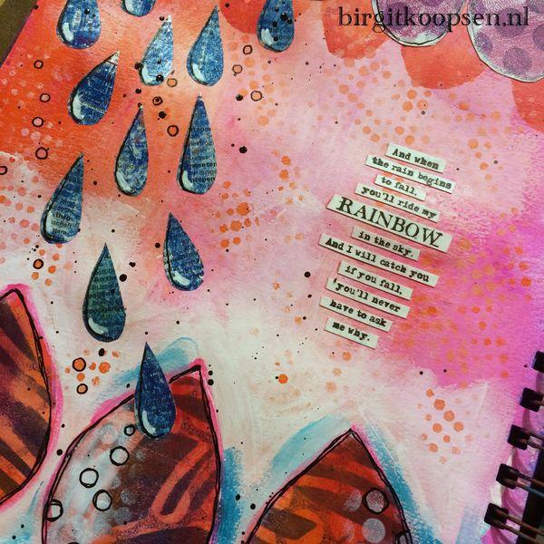 Ride my rainbow - birgit koopsen.detail