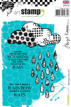 Dancing in the Rain - Birgit Koopsen for Carabelle Studio