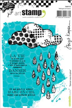 Dancer sous la Pluie - Birgit Koopsen for Carabelle Studio