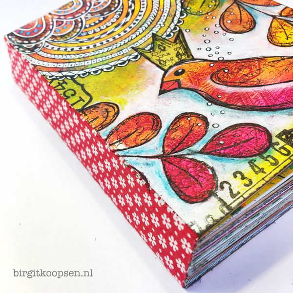 Gelli plate journal birgit koopsen4