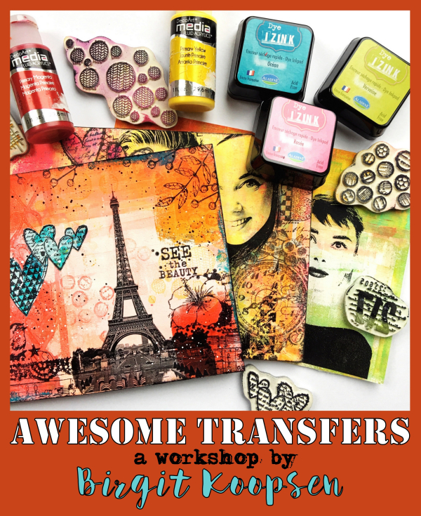 Awesome Transfers - Birgit Koopsen