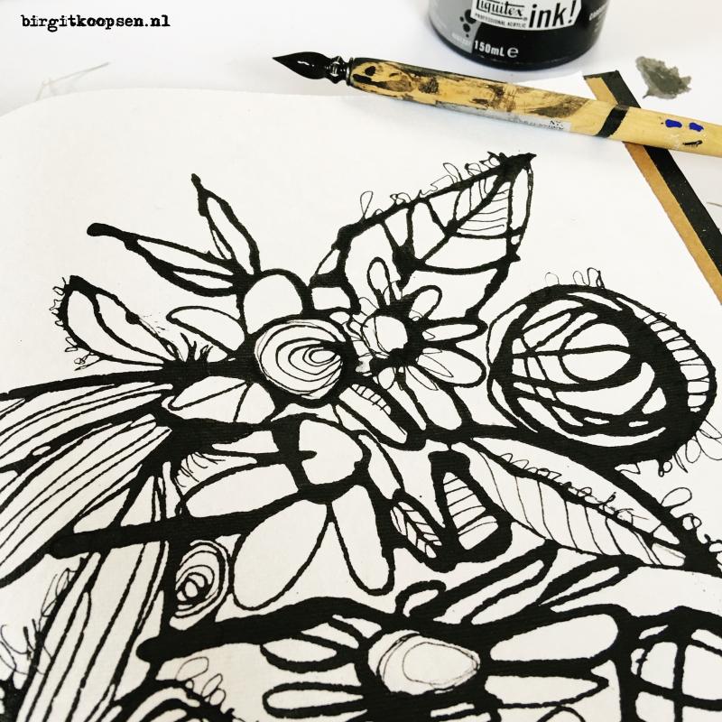 Acrylic ink3 - birgit koopsen
