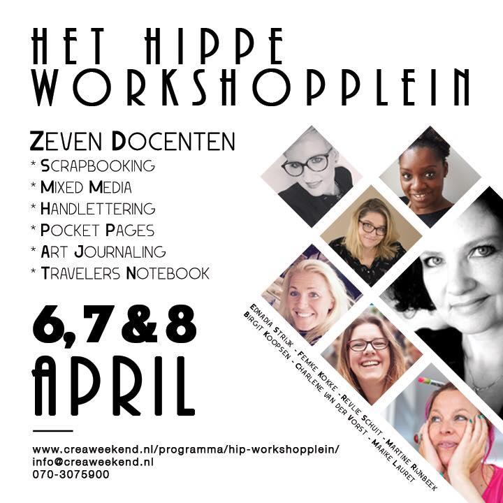 Hippe Workshopplein flyer